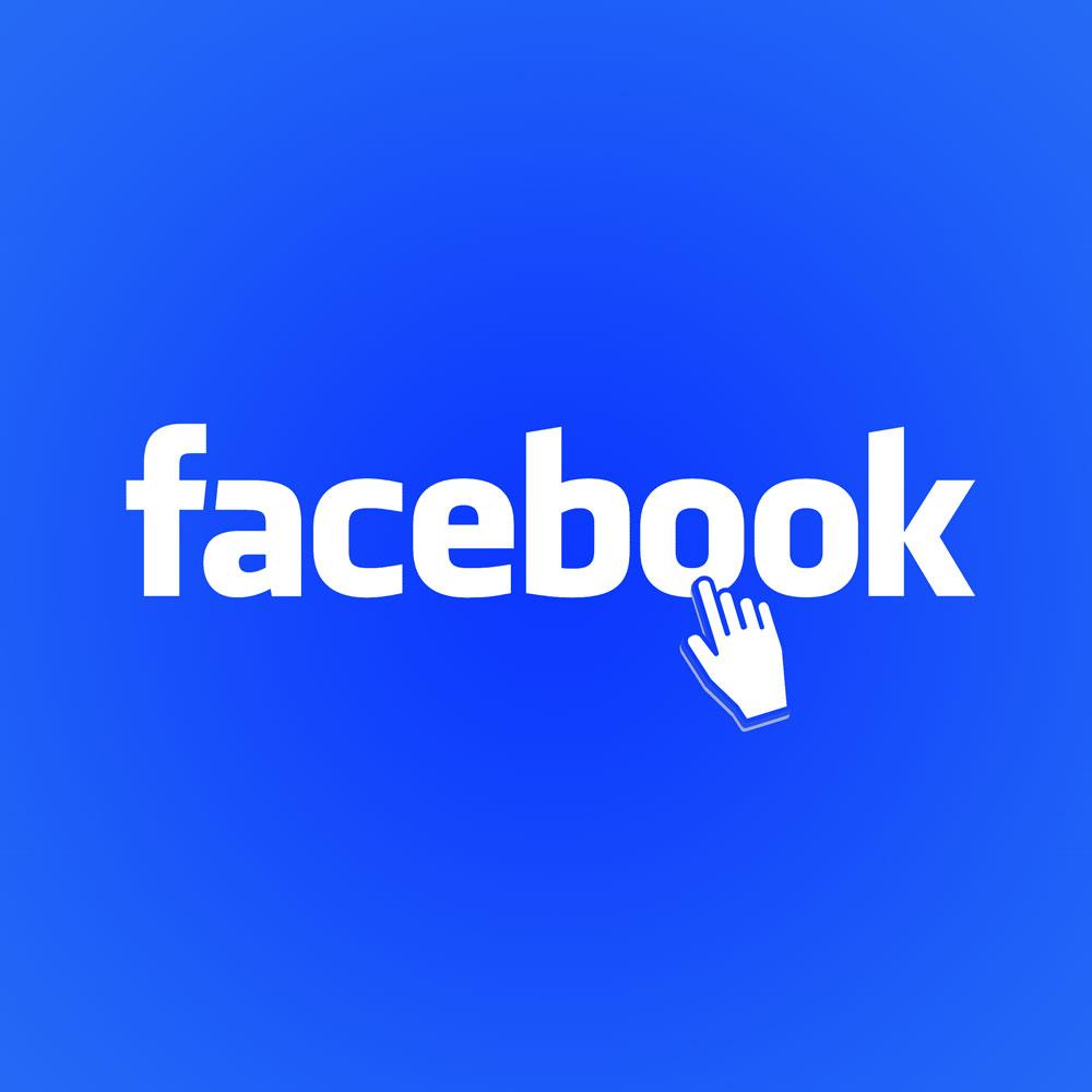"""Facebook Button auf der Startseite des Singer und Songwriters """"The Jam Man"""" alias Robert Braun"""