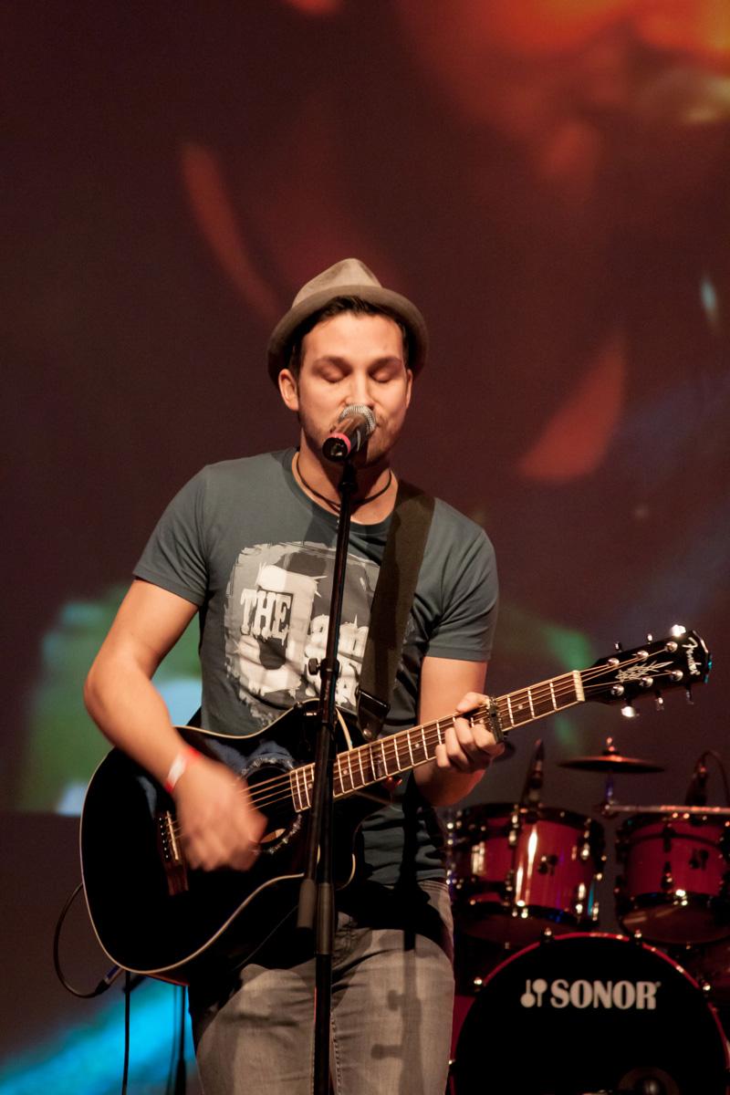 Bild von The Jam Man bei seinem Auftritt beim Deutschen Rock und Pop Preis 1
